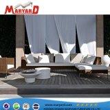 Mobilia di vimini del sofà del rattan della base di sofà del rattan con l'ottomano