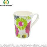 biodegradierbares mehrfachverwendbares Bambuskaffee-Tee-Cup der faser-365ml mit Griff