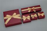 Il contenitore di monili di carta di Tranditional ha impostato con il Bowknot