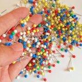 Super Kwaliteit 5 de Plastic Kleurrijke Ronde HoofdSpeld van de Grootte