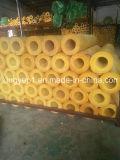 Tube d'isolation thermique des matériaux de construction de la laine de verre du tuyau de la fibre de verre