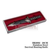 Напольный фикчированный нож 27cm собрания акулы ножей звероловства лезвия