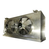 Охладитель нагнетаемого воздуха, охладитель нагнетаемого воздуха при испарении с охлажденной воды