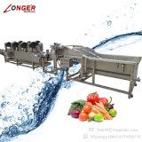 Nettoyeur de légume de machine de rondelle de fruit d'acier inoxydable