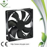 der Geschwindigkeits-24V Draht Fg 12025 Steuer-Gleichstrom-des Ventilator-3 lärmarmer Gleichstrom-Ventilator PC Kasten-Kühlventilator