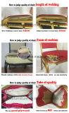 Banquete de cuero antiguo que cena la silla para al aire libre/el hotel/el restaurante