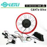 [48ف] [1000و] كهربائيّة درّاجة صرة محرّك عدة مع بطارية