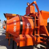 Mezcladora del cemento central de la arena Jzm500