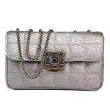 Bourses et bourse en cuir réelle d'embrayage de dames de pochette des sacs à main 100% fabriquée en Chine Emg5158