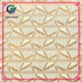 Nylonverzerrung-strickendes Häkelarbeit-Spitze-Gewebe der 85% Baumwolle15%