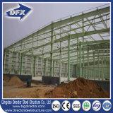 La estructura de acero ligera prefabricada/prefabricó el almacén para el propósito de la producción industrial