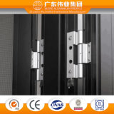 Doble vidriera europea como el aluminio de la fabricación/el aluminio/puerta estándar de Aluminio