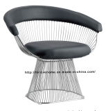 Modern Replica Metal Leisure Restaurant Almofada Outdoor Wire Chair