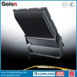 Il migliore watt 150W 100W LED di buona qualità 110lm/W 200 di prezzi l'indicatore luminoso di inondazione di alluminio della pressofusione con vetro glassato