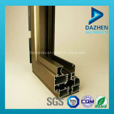 Profil en aluminium en aluminium d'extrusion pour la porte de guichet avec la couche de poudre