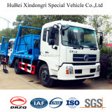 camion di immondizia dell'accumulazione di Wasterbin del bidone della spazzatura di salto del braccio dell'oscillazione di Dongfeng Kinrun del carico utile 5ton