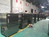 4 portas de aço inoxidável cozinha geladeira para armazenamento de alimentos