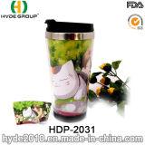 doppel-wandige hübsche Kaffeetasse des Edelstahl-16oz (HDP-2031)