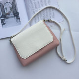 Borsa semplice delle signore di colore della caramella del sacchetto di cuoio di stile del sacchetto popolare di Crossbody mini