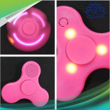 LED verte et rose jouet doigt Parleur Spinner Fidget