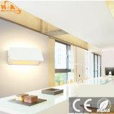 La moderna en la pared interior de las luces de LEDS de Iluminación de cabecera Hotel