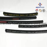 Boyau hydraulique en caoutchouc flexible de silicones de faible diamètre d'OEM