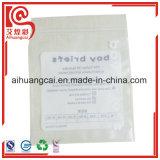 Heißsiegel-mit Reißverschluss Plastiktasche für das Schriftsatz-Verpacken