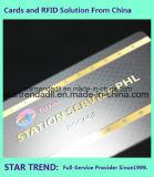 Impressão em quatro cores com cartão padrão UV para empresas