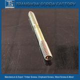 Vis galvanisées en acier de goujon en bois en métal d'usine de vis