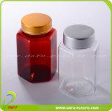 De lege Fles van de Pil van de Gezondheidszorg Plastic met Aluminium GLB