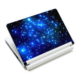 Blue Starry Sky Laptop Skin Decal Netbook Stickers Cover Decal para Mac PRO / Lenovo