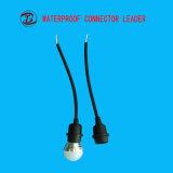 Uso para encender el sostenedor eléctrico impermeable de la lámpara E27 del LED con el interruptor
