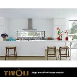 新しい食器棚デザイン光沢の白い台所家具(AP134)