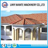 Einfaches Aufbau-Stein-überzogenes Metallrömische Dach-Fliese