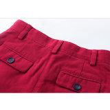 Formregular-scherzt passende Paprika-Pfeffer-Ebenen-Baumwolle Mädchen-Kurzschlüsse
