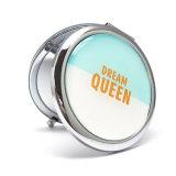 Specchio Pocket dell'unità di elaborazione del nuovo azzurro promozionale rotondo di arrivo per il regalo femminile Cm-1216