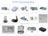 Casella di distribuzione Port ottica della casella terminale 24 della fibra FTTH