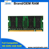Unbuffered 4GB PC2-6400 RAM DDR2-800 800MHz 200pin van de hoge snelheid