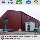 Structure en acier de construction Pre-Engineered personnalisé Warehouse