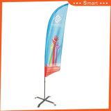 3.10 미터 옥외 사건 광고를 위한 주문 기털 깃발