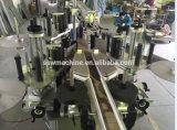 Máquina de etiquetado caliente del tubo del papel del pegamento del derretimiento