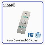 Goldene Aluminiumlegierung-Panel-Draht Drawingprocessing Tür-Ausgangs-Taste (SB10G)