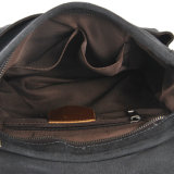 Backpack холстины крышки мешка Colorfull с кожаный плечевым ремнем (RS-6002A)