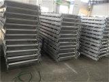 Escaleras de aluminio del andamio de las escaleras del andamio con el gancho de leva