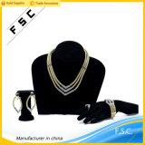 流行ロープの多層の水晶金党宝石類は男女兼用のためにセットした
