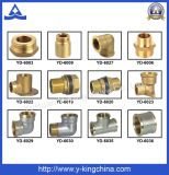 Messingkrümmer-Rohrfitting für Wasser, Öl (YD-6025)