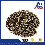 La norme ASTM80 Chaîne à maillons soudés avec les crochets