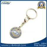 Kundenspezifische Einkaufen-Laufkatze-Scheinmünze für Förderung