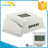 panneau solaire de 20A 12V/24V/contrôleur de charge de la batterie avec la charge M20 de MPPT+PWM