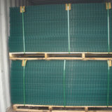 4つのカラー低価格のPVCによって塗られる溶接された金網